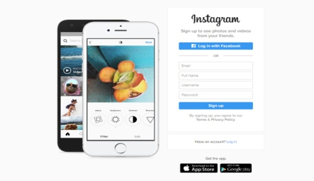 Instagram-signup